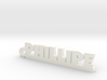 PHILLIPE Keychain Lucky 3d printed
