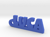 LUCA Keychain Lucky 3d printed