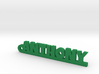 ANTHONY Keychain Lucky 3d printed