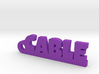 CABLE Keychain Lucky 3d printed