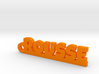 ROUSSE Keychain Lucky 3d printed