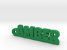AMBER Keychain Lucky 3d printed