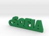 SOFIA Keychain Lucky 3d printed
