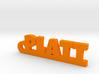 PLATT Keychain Lucky 3d printed