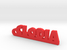 CLODIA Keychain Lucky 3d printed