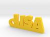 LISA Keychain Lucky 3d printed