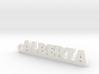 ALBERTA Keychain Lucky 3d printed