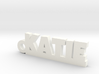 KATIE Keychain Lucky 3d printed
