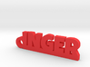 INGER Keychain Lucky 3d printed