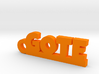 GOTE Keychain Lucky 3d printed