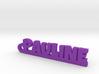 PAULINE Keychain Lucky 3d printed