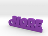 NORE Keychain Lucky 3d printed