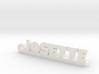 JOSETTE Keychain Lucky 3d printed