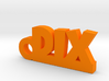 DIX Keychain Lucky 3d printed