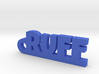 RUFF Keychain Lucky 3d printed