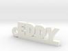 EDDY Keychain Lucky 3d printed