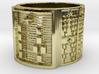 IRETEUNTELU Ring Size 14 3d printed