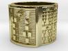 IRETEANSA Ring Size 13.5 3d printed