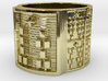OSHEOMOLU Ring Size 14 3d printed