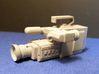 BACK FUTURE 1/8 EAGLEMOS JVC CAM 3d printed Cam with a primer coat.
