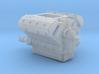 AJPE 1/25 Hemi Single Blower Manifold 1 piece 3d printed