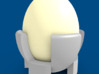 Egg Cup 3D Model Design 3d printed With an Egg