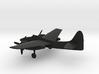 Grumman F7F Tigercat 3d printed