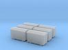 TJ-H04651x6 - Caisses à piles acier galvanisé gran 3d printed