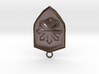 Chaos Shield Pendant 3d printed