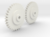 magnavox D8300 gears replacement 2x 3d printed