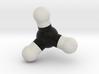 Methane Molecule Model. 3 Sizes. 3d printed