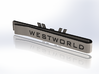 Westworld Tie Clip [Sunrise Edition] 3d printed