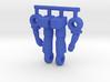 Spike Diaclone Inchman, Limbs 3d printed