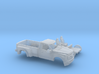 1/87 2017 Ford F-Series Reg.Cab Dually Bed Kit 3d printed