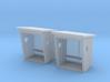 TJ-H01186x2 - Abribus bois 3d printed