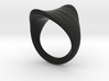 MizNK Ring NO.5 Inspired by the Sea 3d printed