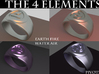 4 Elements - Air Ring 3d printed Rendered Blender Image