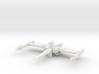 "Cantwell's Prototype X-Wing""S-Foils Closed""(1/270) 3d printed"