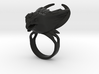Moonchaser Ring 3d printed