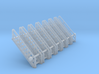N Scale Stairs 10 (7pc) 3d printed