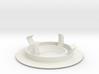 Recessed ceiling mount for Fibaro Motion Sensor 3d printed