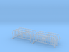 6x PACK 1:50 Small construction fence (One feet) 3d printed