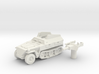 Sd.Kfz 250 vehicle (Germany) 1/100 3d printed