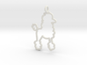 Poodle Charm! 3d printed