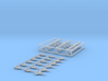 Chinese Carrier Wing Set, 30pc, 1/1250 3d printed