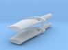 FCS 2610 rudder (2 pcs) 3d printed