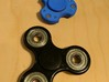 """Spinner for Small Hands/Kids/Toddlers 3d printed Size comparison with a """"standard"""" spinner"""