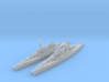 Lexington class battlecruiser (1940s) 3d printed
