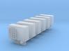 N Scale 6x Aircon Unit 3d printed