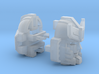 Silverblue Daemon's Head Classics version 3d printed